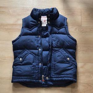 True Religion down puffer vest